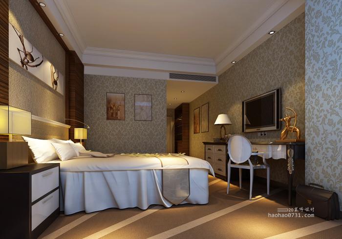 酒店装修设计,宾馆装修效果图,酒店客房设计效果图