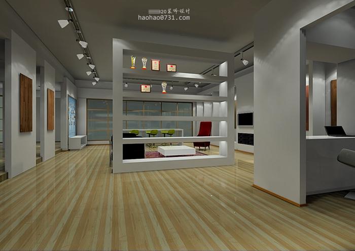 木地板展厅设计,地板展厅装修效果图图片